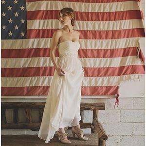 Arabelle dress j crew wedding gown